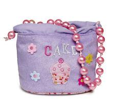 5 X Restposten Mädchen Lila Cupcake Ballett Handtaschen Geschenk Partytasche