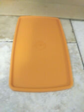 """New listing Tupperware Replacement Lid 714 Rust 8 1/2 X 5 1/4"""""""