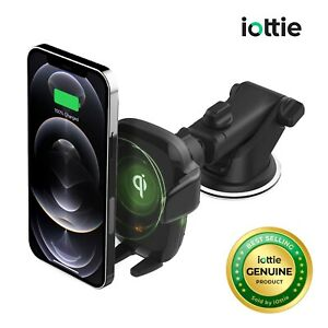 iOttie Wireless Car Charger Auto Sense Qi Charging Automatic Clamping Dashboard