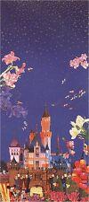 """Hiro Yamagata       """"Night of Disneyland""""       Serigraph on Paper  BA"""