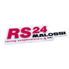 Pegatina Masi RS24 Racing suspensión color rosa medio negro 45 mm X 144