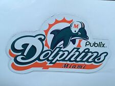 NIP MIAMI DOLPHINS VS. NEW YORK JETS SEPT. 22, 2002 PUBLIX COMMEMORATIVE MAGNET
