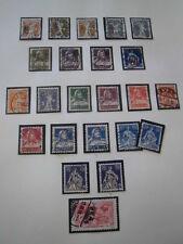 Sammlung, Schweiz 1907-1941 Frei- und Sondermarken , gestempelt (1097)