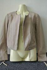 Beautiful Witchery Beige or Clay leather jacket sz10