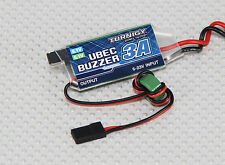 New Turnigy UBEC w/ Low Voltage Buzzer 3A 5.1/6.1V switching BEC US