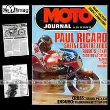 MOTO JOURNAL N°311 DAYTONA OLD BIKE SHOW BARRY SHEENE FANTIC 50 CABALLERO '77