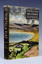 Tortillla Flat. John Steinbeck. Peggy Worthington Illustrated 1947 Viking 1st Ed
