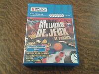 8 pc cd-rom des millions de jeux et parties nouvelle selection 2004