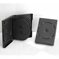 5 CUSTODIE NERE DVD 10 POSTI 33 MM per CD DVD -R 555381 per verbatim tdk SONY