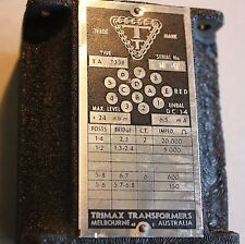 Trimax valve plate to line audio output  transformer TA 733B