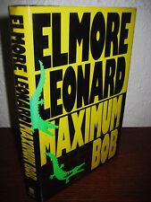 1st/1st Printing MAXIMUM BOB Elmore Leonard MYSTERY Crime THRILLER