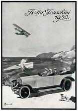 G.Francioli-ISOTTA FRASCHINI-aereo-nave-mare-cane-1920.