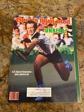 Sports Illustrated - U.S. Open Champion - John McEnroe - Sept 1984