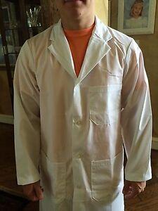 Men's 1st Quality River's End Lab Coats Cotton Blend for 13.00 Sizes: XL& 2XL