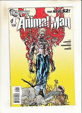 Animal Man #1 1st Printing! DC The New 52! HTF Issue!