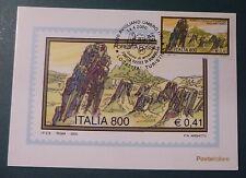 MAXI CARD -  FDC - FOSSILI AVIGLIANO - TERNI - 2000
