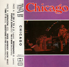 "K 7 AUDIO (TAPE) CHICAGO  ""25 OR 6 TO 4"""