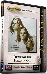 Johnnie Liliedahl: Drawing The Head In Oil - Art Instruction DVD