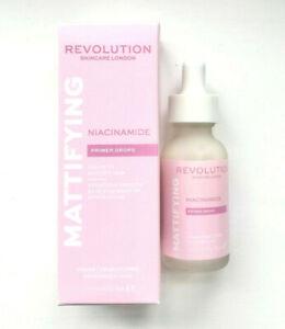 REVOLUTION Skincare Niacinamide Mattifying Priming Drops - Makeup Primer Serum