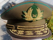 CHILEAN CARABINEROS POLICE GENERAL HIGHEST RANK EMBROIDERY HAT CAP SCARCE