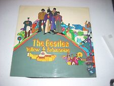 "BEATLES Yellow Submarine UK Import Blank Flipback RED LINES ""sold in UK"" 1/1 EX"