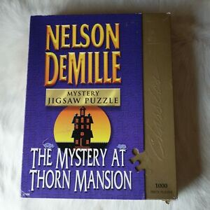 Nelson Demille Puzzle MYSTERY PUZZLE GAME Bepuzzled Puzzle HALLOWEEN Puzzle 1000