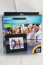 NEW Shift Portable Photo Album 500 Images Color 3.2 inch LCD High Resolution USB