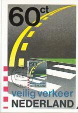 Nederland Maximumkaart(en) R43 W afgestempeld op 1e dag van uitgifte 1982