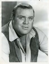 DAN BLOCKER AS HOSS PORTRAIT BONANZA ORIGINAL 1966 NBC TV PHOTO