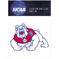 Fresno State Bulldogs Logo NCAA Die Cut Vinyl Car Sticker Bumper Window
