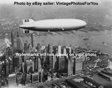 Vintage/Old/Antique Hindenburg Airship Manhattan New York City Photo/Picture