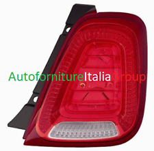 FANALE FANALINO STOP POSTERIORE DX BIANCO - ROSSO FIAT 500 15> 2015>