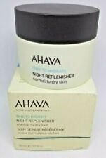 AHAVA Time To Hydrate Night Replenisher  Normal to Dry Skin, 1.7 fl. oz NIB
