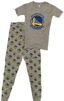 Golden State Warriors Youth Sleepwear Short Sleeve Tee & Pants Set