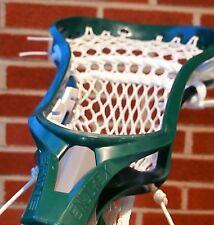 New Brine Encore X Lacrosse Head Hand Strung w/ Semi-Soft Mesh w/ a Mid Pocket