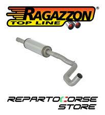 RAGAZZON SCARICO CENTRALE INOX FIAT PANDA II 169 1.4 16V 100HP 10/2006->