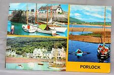 Vintage Somerset Postcards Bulk Lot 57 Porlock Colourmaster Cards with 3 Views
