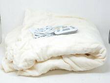 Wellrest Queen Heated Blanket in Cream