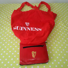 Collectable GUINNESS Extra Stout Foldable Shopping Bag / Purse RARE