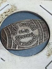 Vintage Jeff Purtee Newport, KY Whiskey Barrel Shaped Good For Token