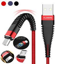 2A плетеный Micro Usb зарядное устройство кабель быстрая зарядка шнур для планшета Samsung Android