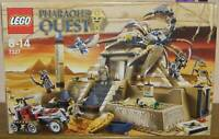 Lego Pharao`s Quest 7327 Pyramide des Pharaos 100% komplett mit allen Figuren BA