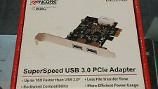 new IN BOX 1 WITHOUT BOX High Speed 2 Port USB 3.0 to PCI-E Card PCI Express