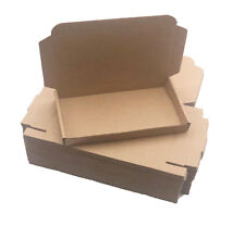 200 - 7 x 4 x 3/4 Corrugated Shipping Mailer Packing Box Boxes