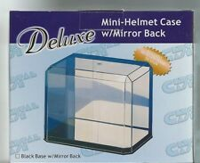 PROTECH MINI FOOTBALL HELMET DISPLAY CASE WITH MIRROR BACK Stackable