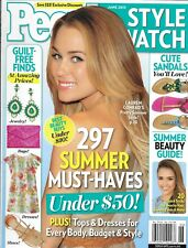 People Style Watch magazine Lauren Conrad Summer fashion and beauty Sandals