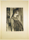 Madame Abdala Original 1893 Lithograph by Toulouse-Lautrec Wittrock 23