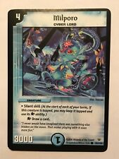 Milporo Duel Masters DM10 Common card TCG CCG