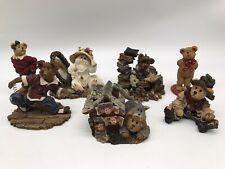 Boyds Bears & Friends Lot of 7 Bearstone Figurines No Boxes