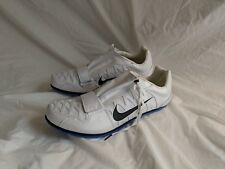 NIKE Zoom LJ 4 Long Jump Track White 415339-100 Mens Size 14 without spikes